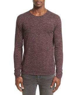 Heathered Crewneck Sweater