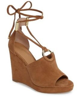 Ramona Wraparound Wedge Sandal