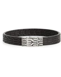 Classic Chain Leather Bracelet