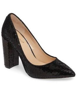 Luxury Pointy Toe Pump