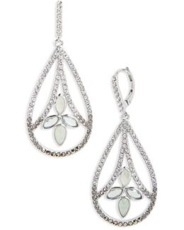 Lakeside Crystal Drop Earrings