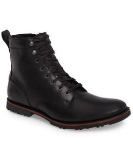 Kendrick Side Zip Leather Boot