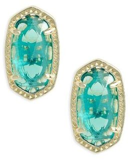 Ellie Birthstone Stud Earrings