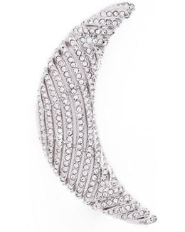 Pave Crescent Pin
