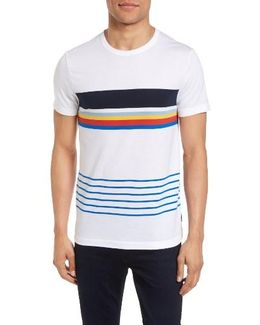 Senior Stripe Slim Fit T-shirt