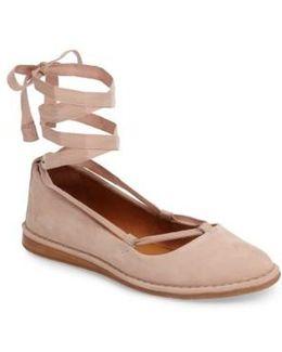 Helena Ankle Wrap Flat
