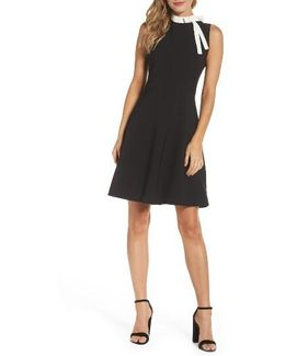 Bow Sheath Dress