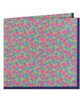 Carnaby Floral Cotton Pocket Square