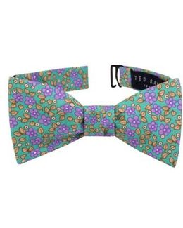 Carnaby Floral Silk Bow Tie