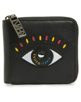 Icons Cory Eye Squared Leather Wallet