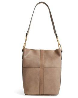Ilana Leather Bucket Bag