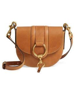 Small Ilana Harness Leather Saddle Bag