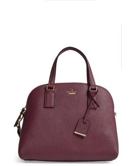 Cameron Street - Lottie Leather Satchel - Purple