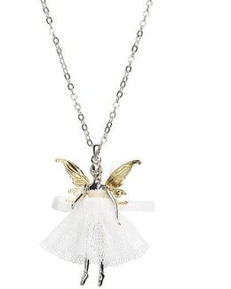 Faylinn Mini Fairy Ballerina Necklace