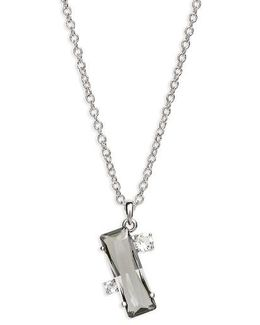 Blaeke Baguette Pendant Necklace