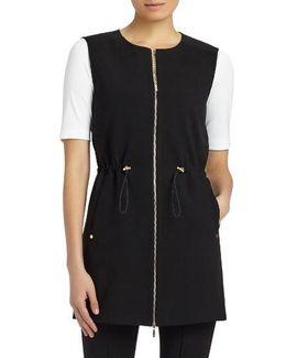 Punto Milano & Woven Vest