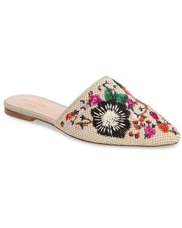Monteclair Embroidered Mule