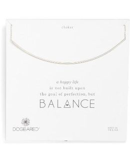 Balance Bar Choker Necklace