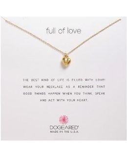 Full Of Love Pendant Necklace