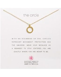 The Circile Pendant Necklace