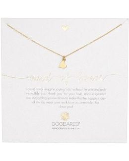 Maid Of Honor Heart Pendant Necklace