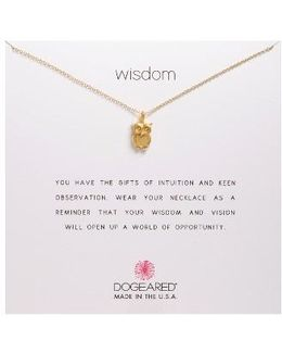 Wisdom Pendant Necklace