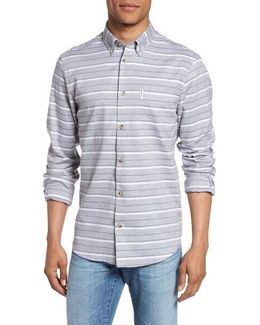 Tipping Horizontal Stripe Shirt