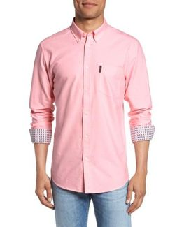 Contrast Lined Oxford Shirt