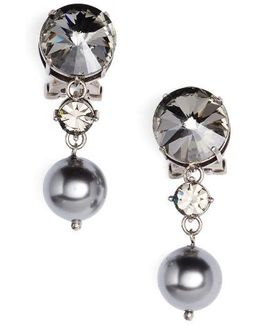 Queen Jewels Classic Clip-on Earrings