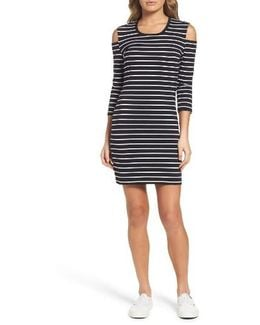 Tim Tim Cold Shoulder Dress
