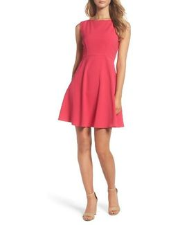 Whisper Light Fit & Flare Dress