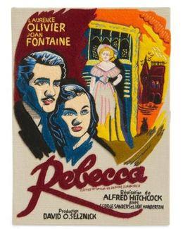 Hitchcock 'rebecca' Book Clutch