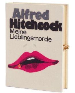 Hitchcock - 'meine Lieblingsmorde' Book Clutch