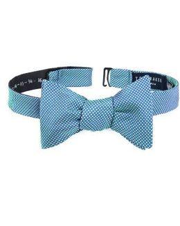 Natte Check Bow Tie