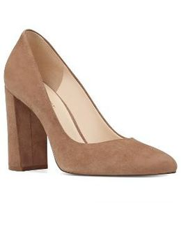 Denton Block Heel Pump