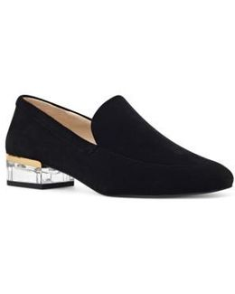 Umissit Clear Heel Loafer