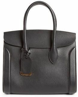 Large Heroine Calfskin Leather Shopper
