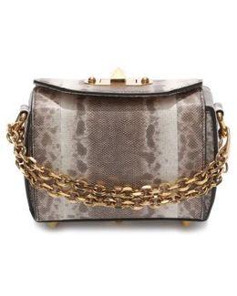 Mini Box Genuine Snakeskin Bag