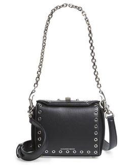 Mini Box Grommet Leather Bag