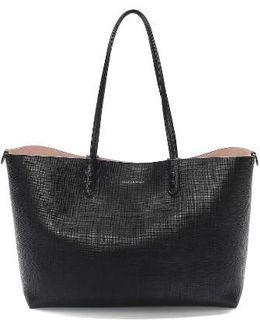 Medium Calfksin Leather Shopper