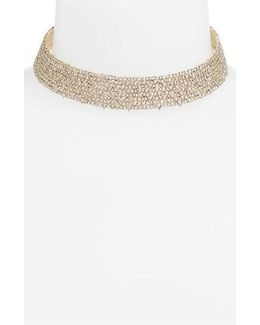 Crystal Encrusted Choker