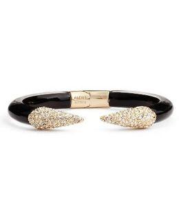 Encrusted Hinge Bracelet