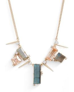 Geo Crystal Spike Necklace