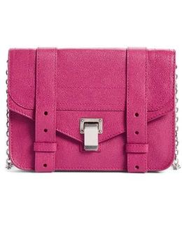 Ps1 Leather Chain Wallet - Purple