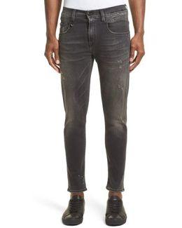 Boy Paint Splattered Jeans