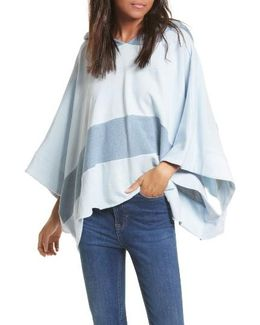 Never Say Never Hooded Poncho
