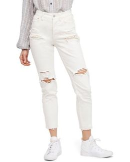 Lacey Stilt Embellished Skinny Jeans