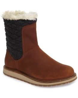 Seraphina Waterproof Boot With Faux Fur Trim