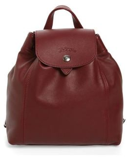 Le Pliage Cuir Backpack