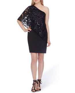 One-shoulder Sequin Dress